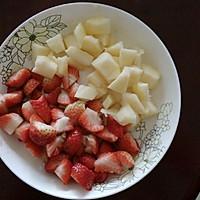 草莓苹果汁的做法图解1