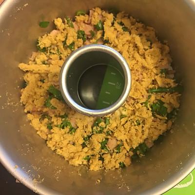 香葱培根肉松手撕面包的做法 步骤9