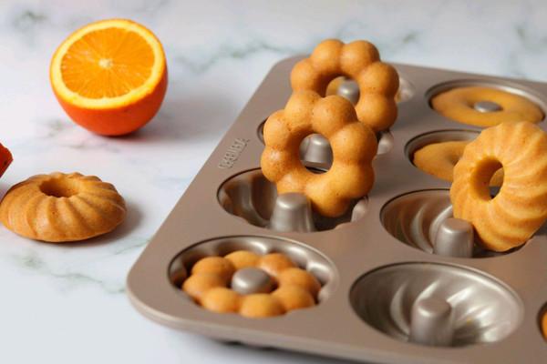 橙香甜甜圈(植物油版)