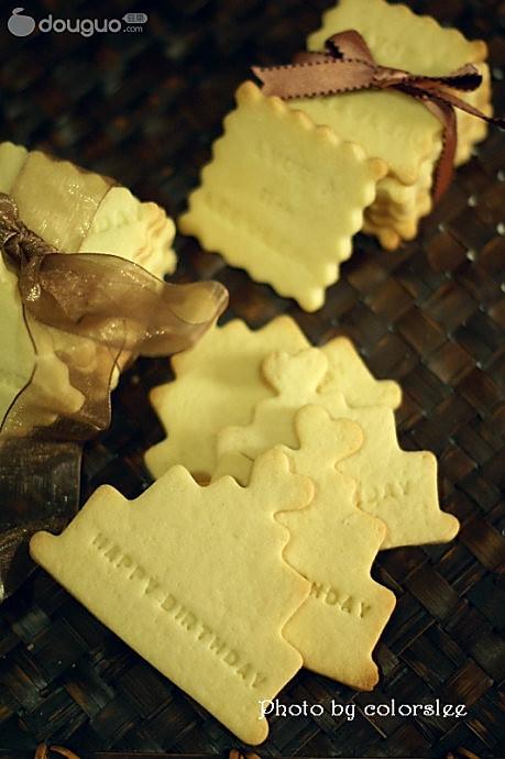 情书卡片饼干的做法