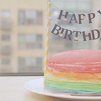 爱的彩虹蛋糕「厨娘物语」的做法图解25