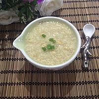 小米黄豆粥的做法图解4