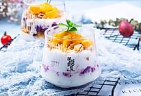 紫薯酸奶脆脆杯的做法