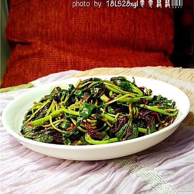 排毒强身:炝炒汉菜