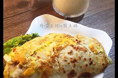 鸡蛋卷饼#孩子早餐最爱的饼儿#