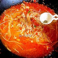 茄汁金针菇的做法图解12