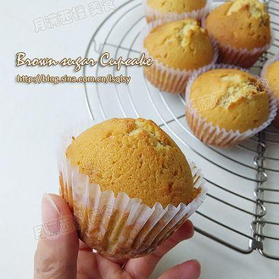 红糖杯子蛋糕--冬日贴膘必备的醇香蛋糕