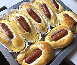随心所欲做了烤肠面包的做法