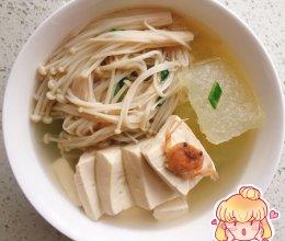 豆腐冬瓜汤的做法