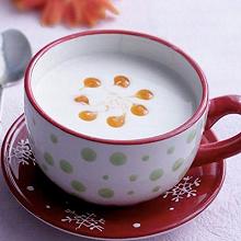 木瓜杏仁奶茶