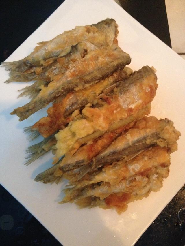 炸长条鱼的做法 炸长条鱼怎么做好吃 涵涵宝宝琴 家常做法大全 豆果美