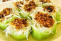 清蒸蒜蓉丝瓜 | 清新自然的做法