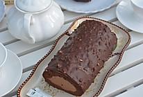 巧克力脆皮蛋糕卷的做法