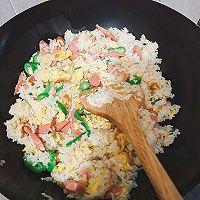 火腿鸡蛋炒饭的做法图解7