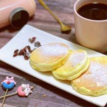 美味早餐厚松饼