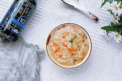 双米猪肝粥