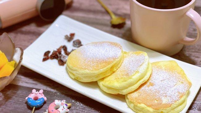 美味早餐厚松饼的做法
