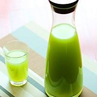 减肥圣品青瓜汁的做法图解1