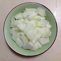 减肥降脂晚餐-双耳冬瓜汤and辣炒苦瓜的做法图解3