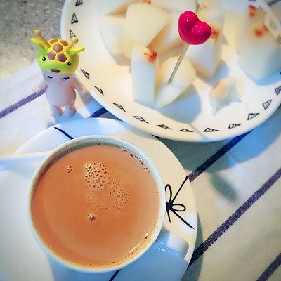 香喷喷的焦糖奶茶