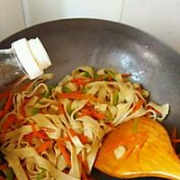 大喜大牛肉粉试用之✘爆炒素三丝的做法图解9