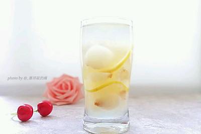 荔枝柠檬郎姆冰饮