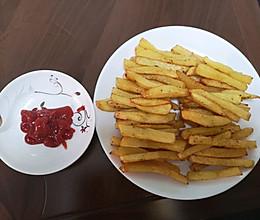 宅在家小零食之炸薯条的做法