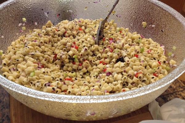 空心面/通心粉沙拉(macaroni salad)的做法