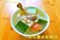 冬瓜薏米老鸭汤的做法