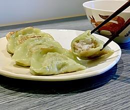 #餐桌上的春日限定# 虾仁马蹄煎饺的做法