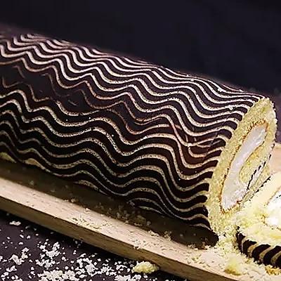木柴蛋糕卷