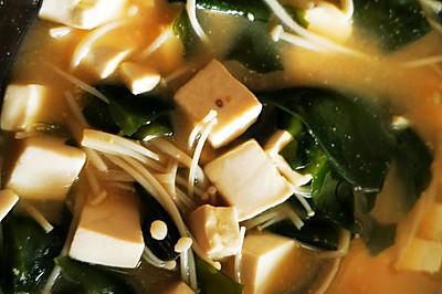 日式味增汤
