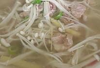 金针菇肉汤的做法