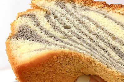斑马纹蛋糕 6寸 12M+