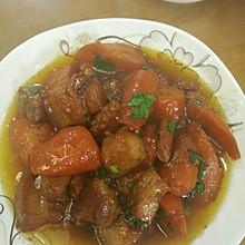 红萝卜炖肉