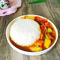 香肠土豆咖喱饭