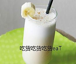 蜂蜜香蕉奶昔的做法