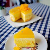 6寸芒果慕斯蛋糕的做法图解18