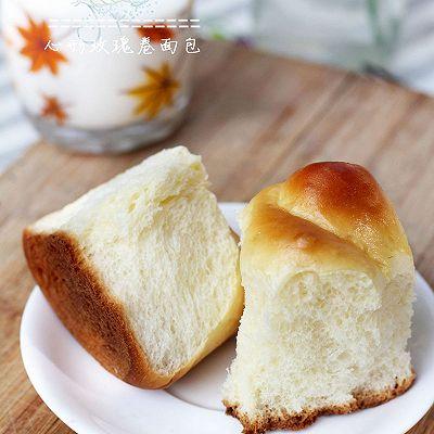 心形玫瑰卷面包