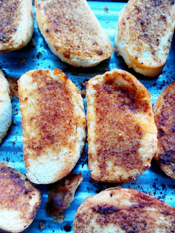 奥尔良烤馒头片的做法