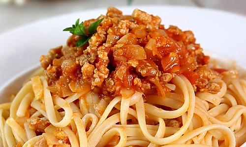 橄露Gallo经典特级初榨橄榄油试用之肉酱宽扁意面的做法