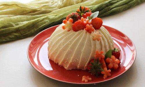 拼搭之味--草莓芝士小蛋糕的做法
