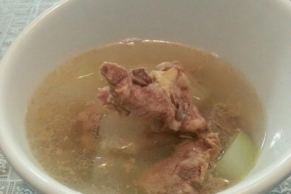 冬瓜排骨汤(详细分解版)的做法