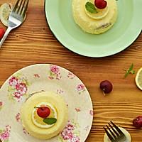 柠檬蓝莓冰淇淋蛋糕