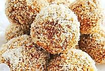 椰香咖啡蛋白球的做法