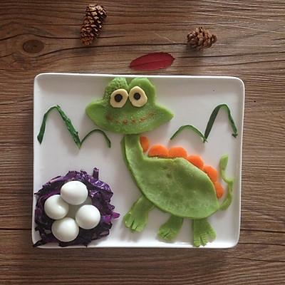 宝宝创意童趣早餐之恐龙