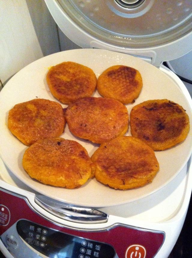 红豆陷南瓜饼的做法_【图解】红豆陷南瓜饼怎么做如何