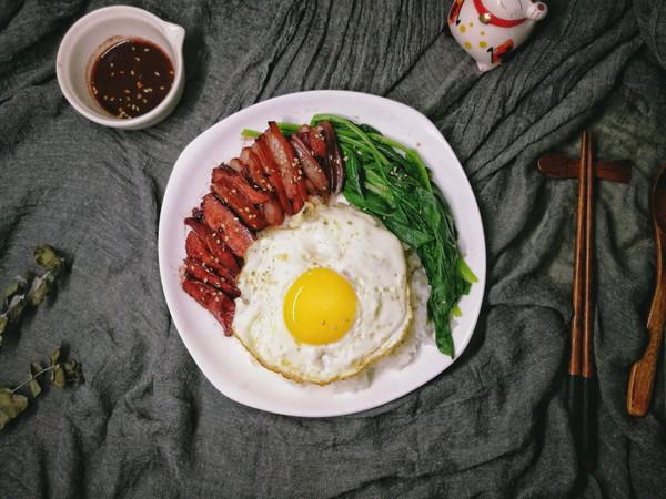 自制叉烧肉饭