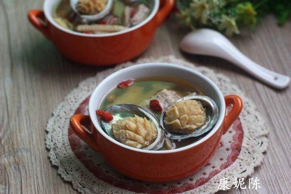 鲜鲍鱼瘦肉汤的做法