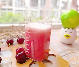 樱桃冰饮的做法